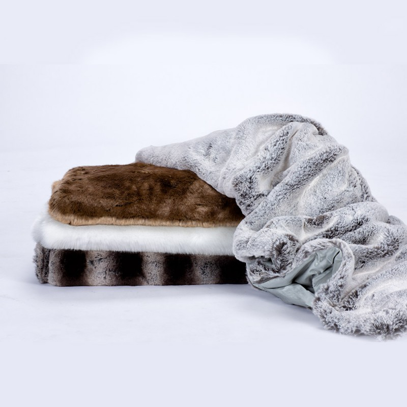 faux fur Throws-zink-throws
