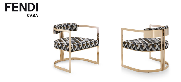 933a7bea6bfe FENDI Casa presents a Collection that is expression of elegance and  excellence in craftsmanship. A furnishing project that combines sartorial  details with ...
