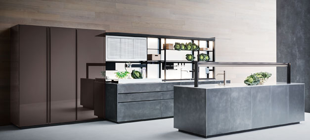 Valcucine The Leader In Kitchen Design State Of The Art Technology And Ergonomics Casarredo