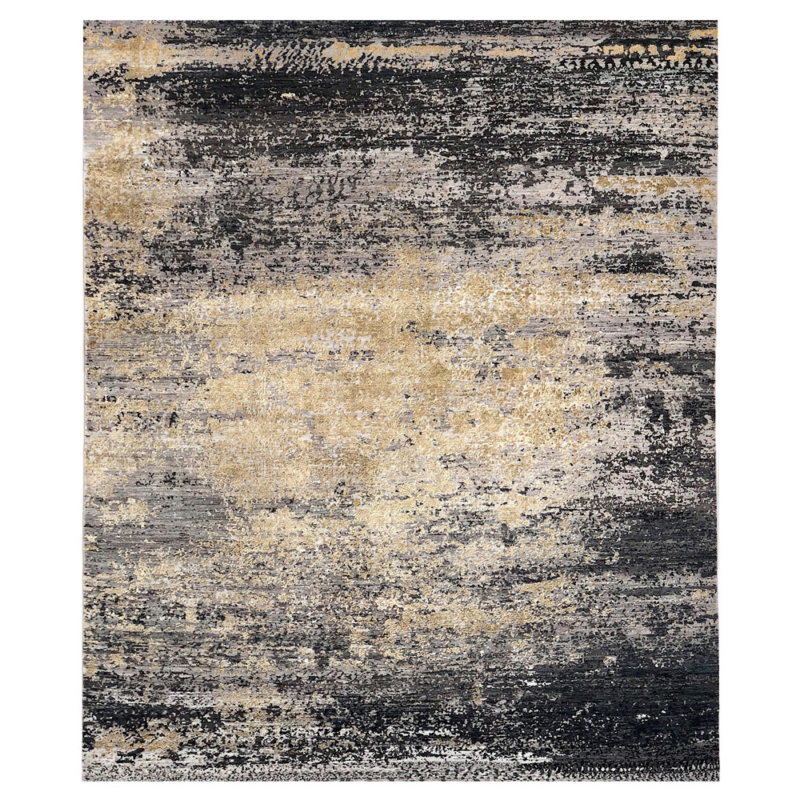 Eclipse-rug-silk-woven-knots-colours-carpet